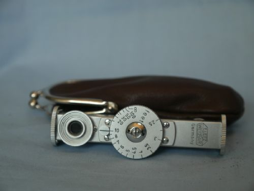 * CASED-MINT * Accessory Shoe Leitz Leica FOKOS Rangefinder In Feet -NICE- £99.99